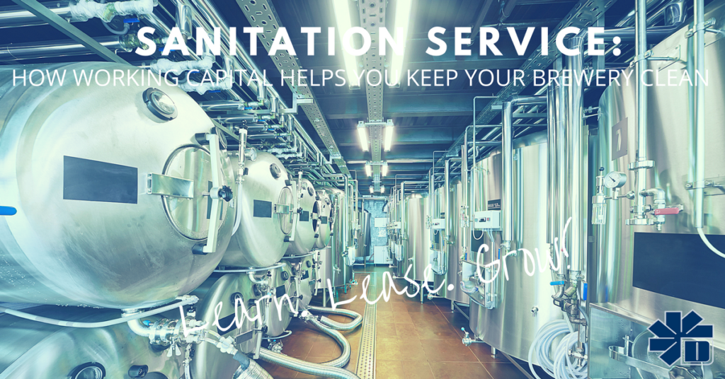 How Working Capital Helps with Brewery Sanitation