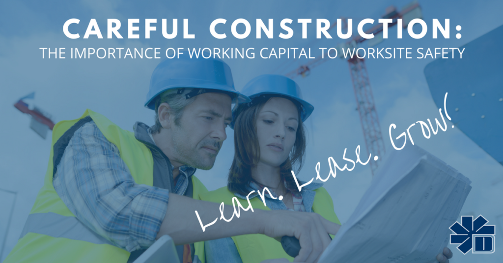 Importance of Working Capital to Construction site Safety