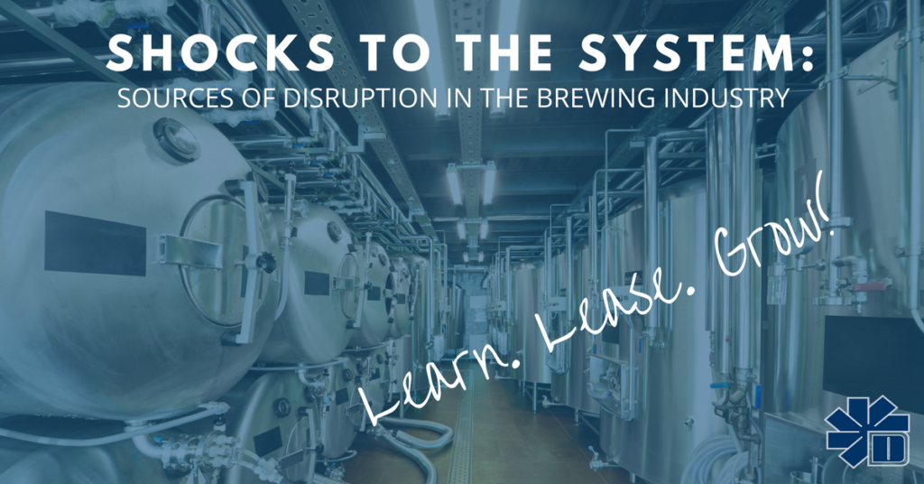 Sources of Disruption in the Brewing Industry