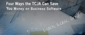 Save money on your taxes with the TCJA