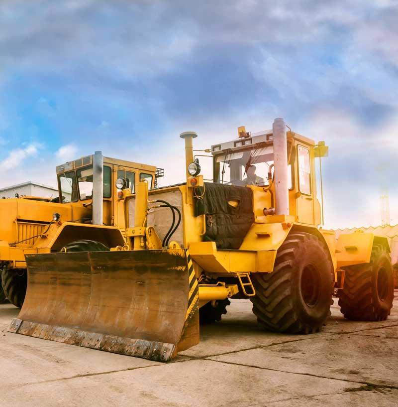 Construction Equipment Financing - Trackers, Excavators, etc.