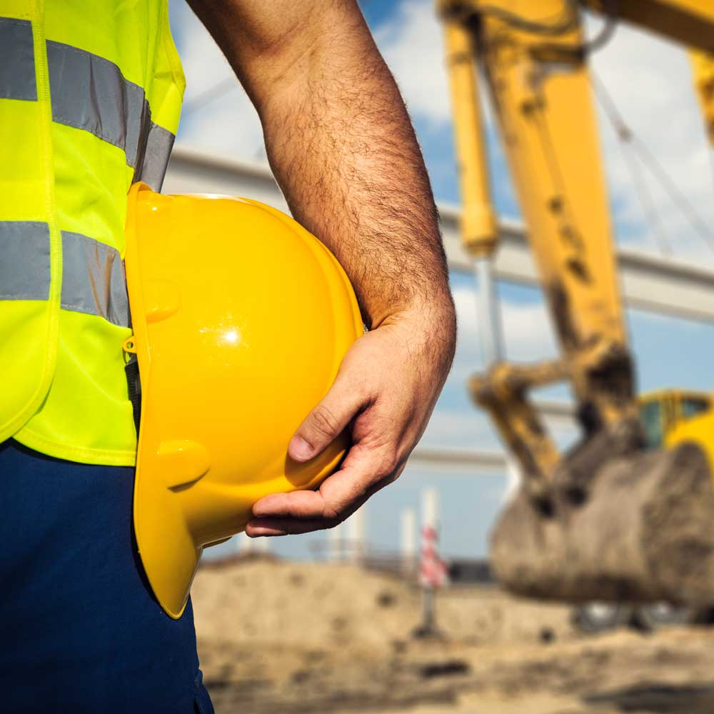 Construction Worker with Equipment / Financing