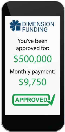 Software Financing Application Approved for $500k