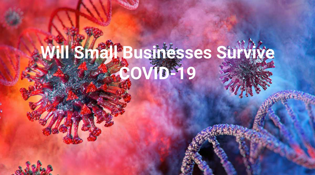 Survival of Small Businesses After Covid-19 background
