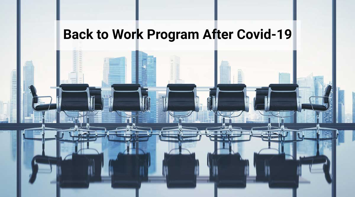 Back to Work Program After Covid-19