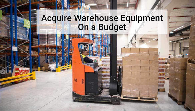 Materials Handling Equipment Financing